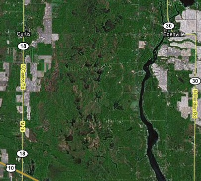 Edenville Satellite map 2