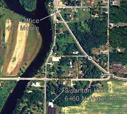 Edenville Satellite map 1
